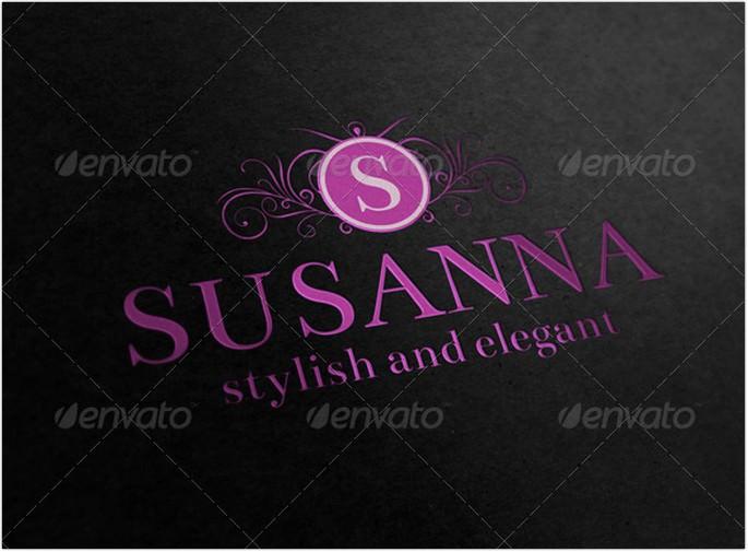 Heraldic Elegant Fashion Logo