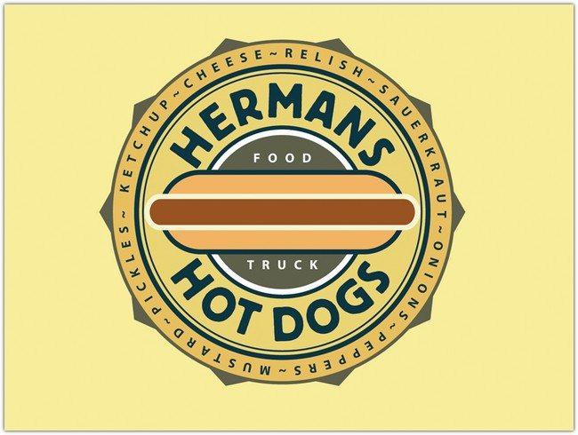 Hotdog Logo Design