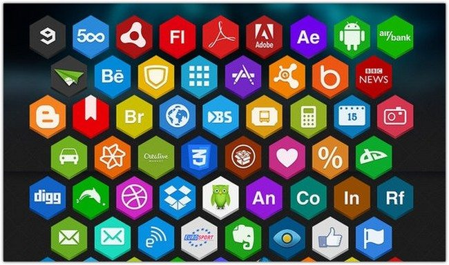 Hex Icons Pack