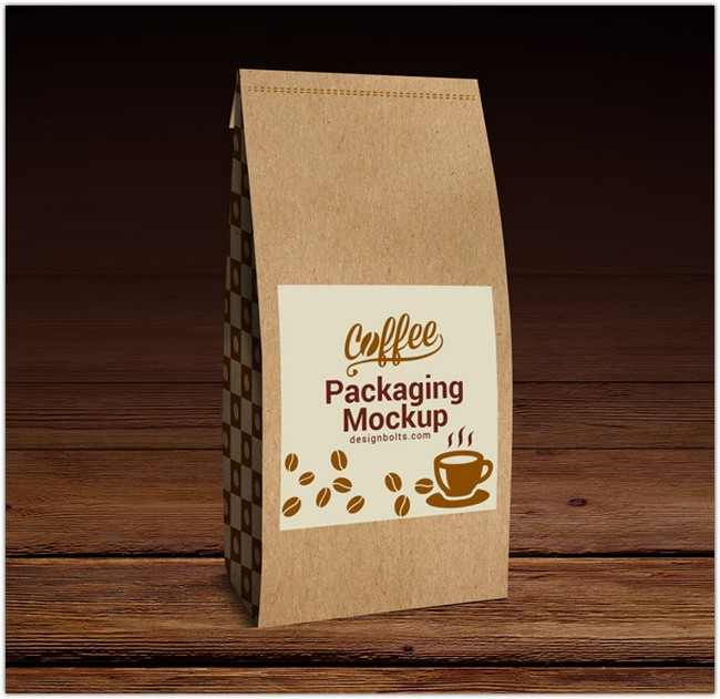 High Quality Coffee Packaging Mock-up