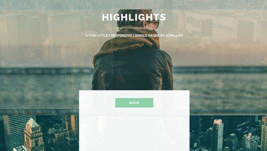 Highlights HTML5