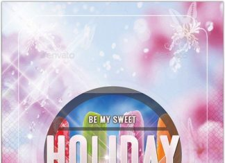 Holiday Flyer Templat