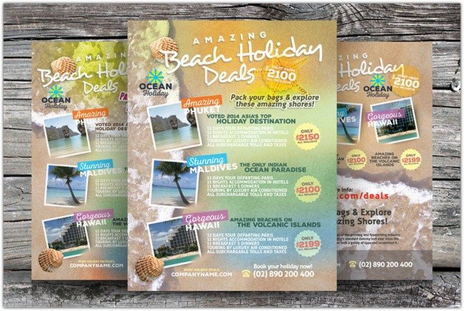 Holiday Travel Flyers