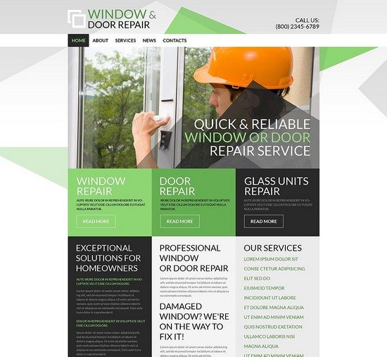 Home Renovation WordPress Theme