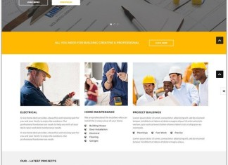 Construction Joomla Template