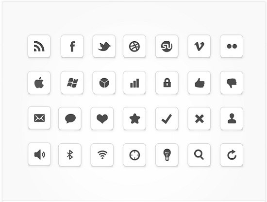 IC Minimal Icon Set