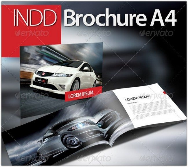 INDD Brochure Booklet A4
