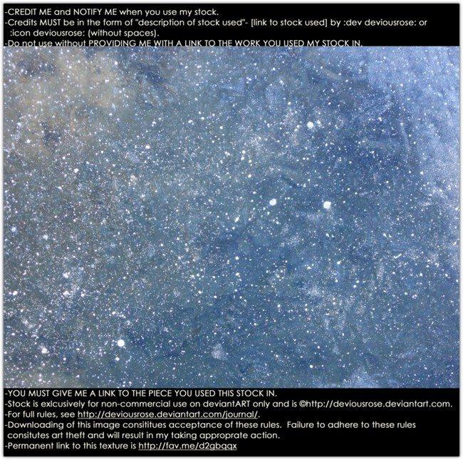 Ice Galacy Texture
