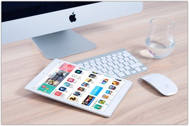 Imac Apple Mockup App Ipad Mouse
