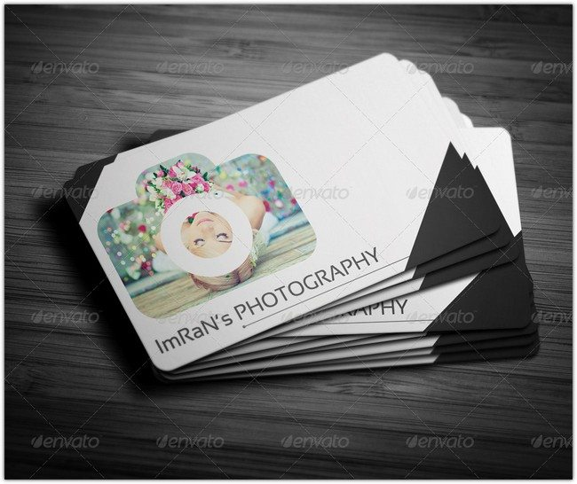 Imran Photographer Business Card