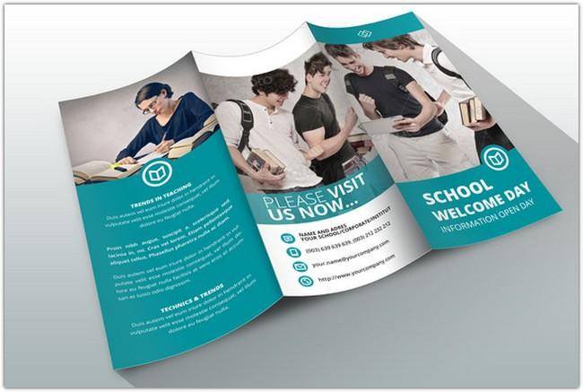 Indesign Brochure Template School