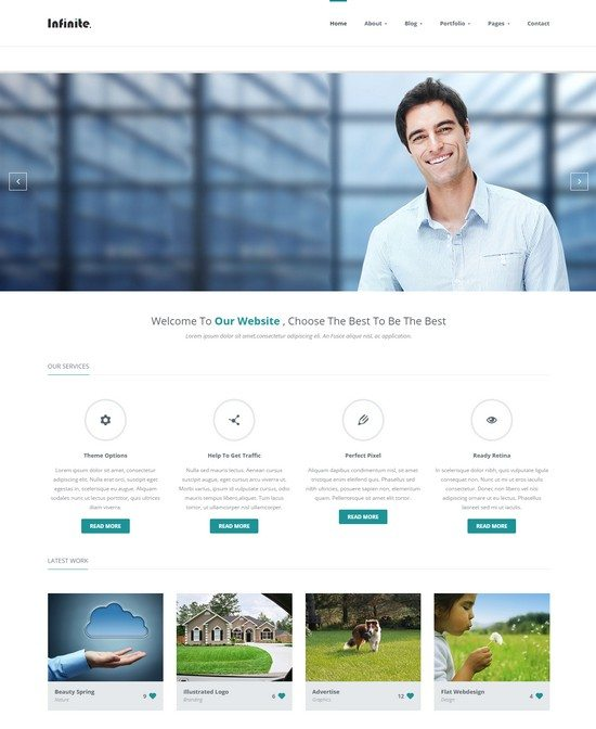 Infinite-Responsive-HTML5-Multi-Purpose-Template