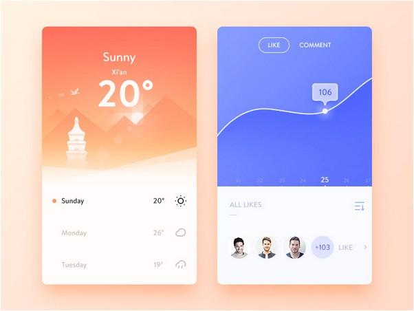 Inspirational UI Elements