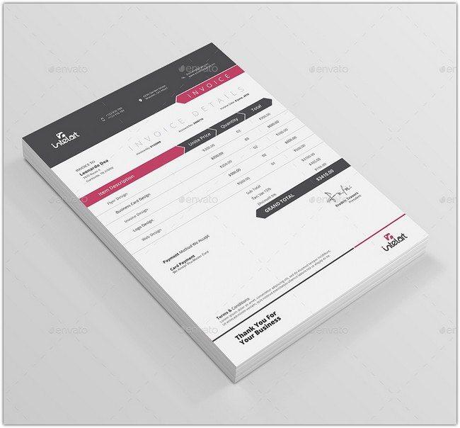Intelart Invoice