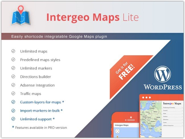 Intergeo Maps – Google Maps Plugin