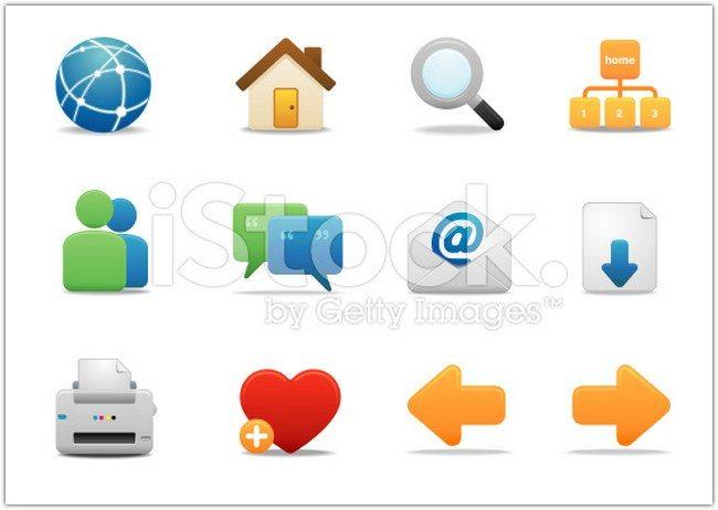 Internet & Website icons Premium Matte series