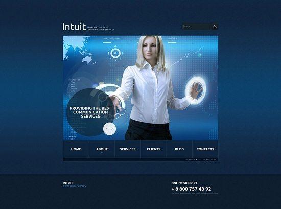Intuit Responsive Joomla Template