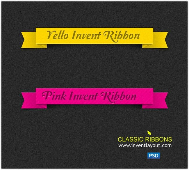 Invent Classic Ribbons