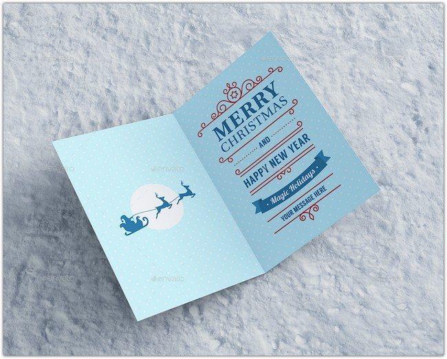 Invitation & Greeting Card Mockup #2