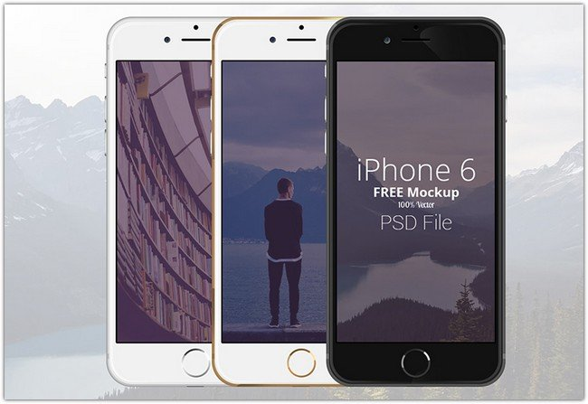 Iphone 6 – Scalable Mockups