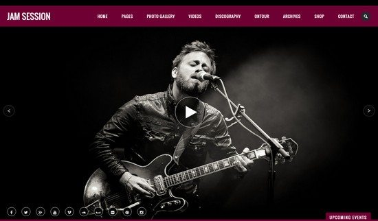 JamSession – Music & Music Band WordPress Theme