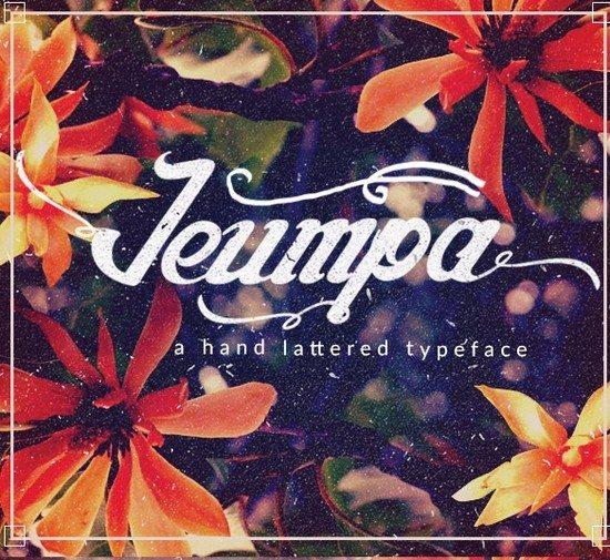 Jeumpa Script Font