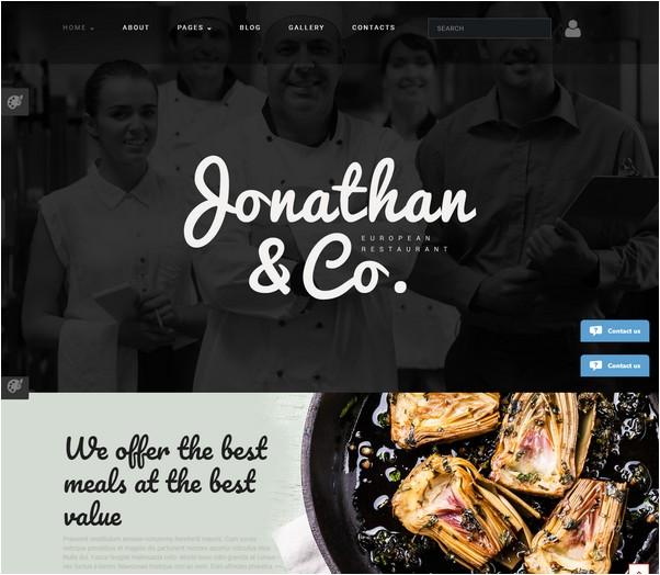 Jonathan Co Joomla Template