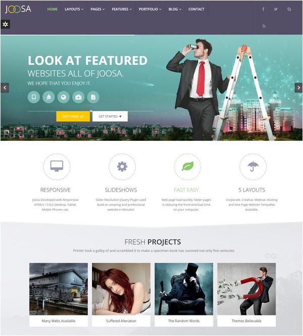 Joosa - Responsive MultiPurpose HTML5 Template