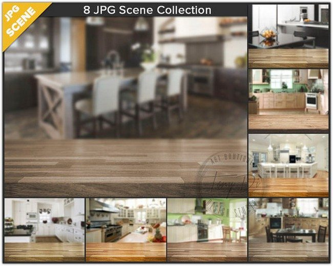 8 Jpeg Scene Collection