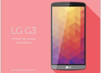 LG Mobile Mockup