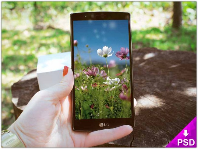 LG G3 Mock-up