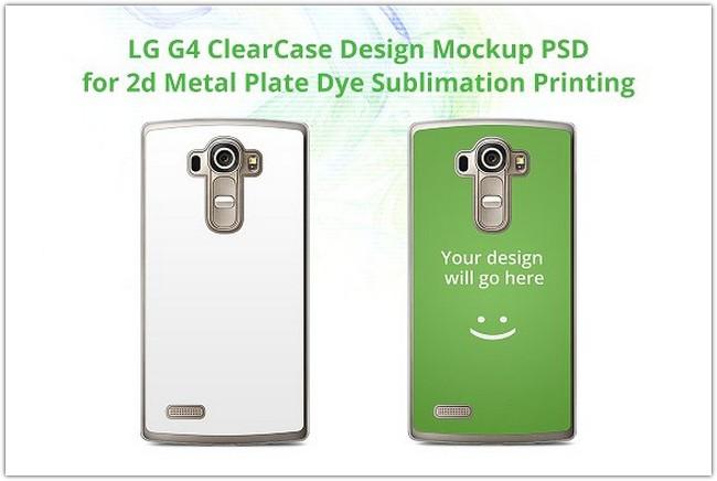 LG G4 ClearCase Mock-up