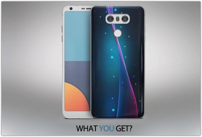 LG G6 App & Skin MockUp