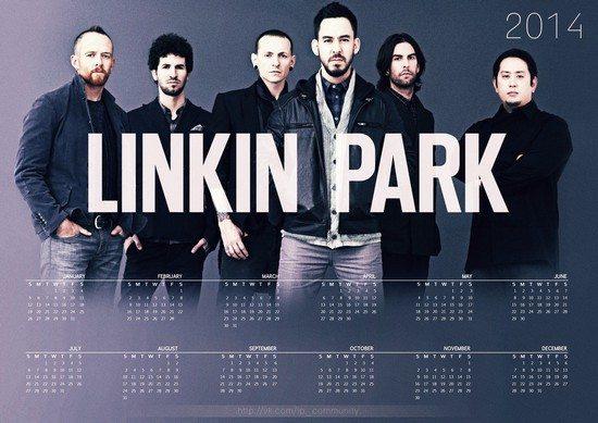 LINKIN PARK Calendar 2014 – 2