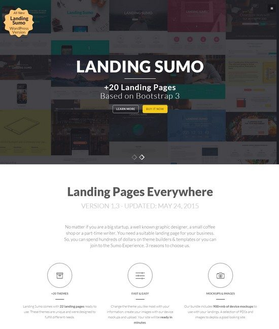 Landing Sumo +20 Themes in One