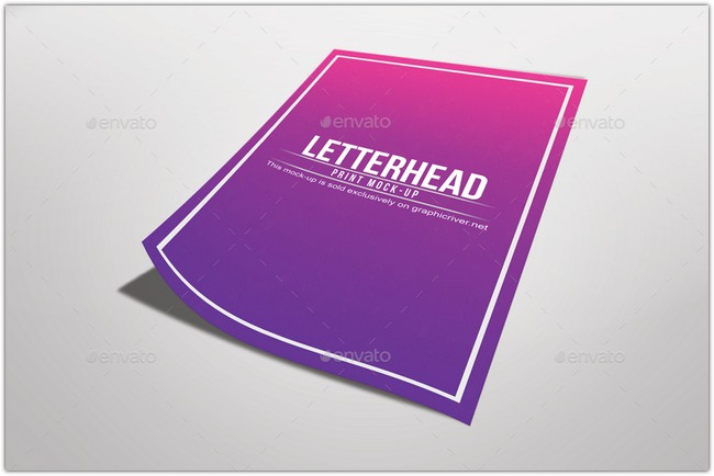 Letterhead Mock Up 02