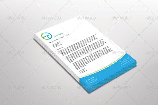 Letterhead Mock Up Set