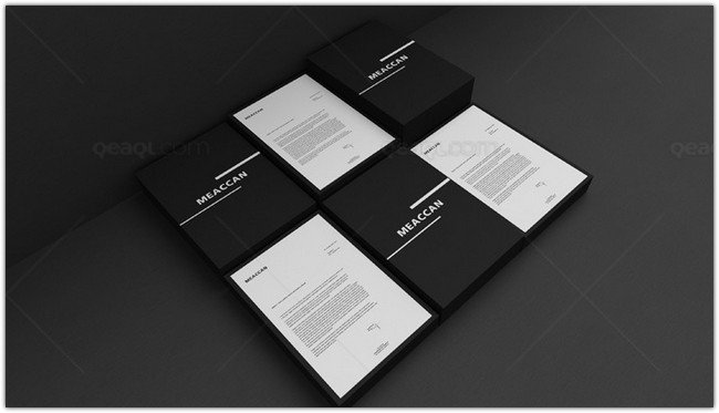 15 best letterhead mockup psd templates design templatefor
