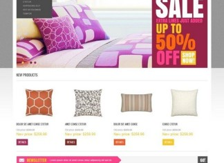 Interior Furniture Store Magento Theme
