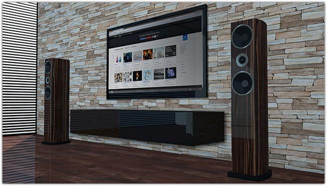Living Room tv mock-up