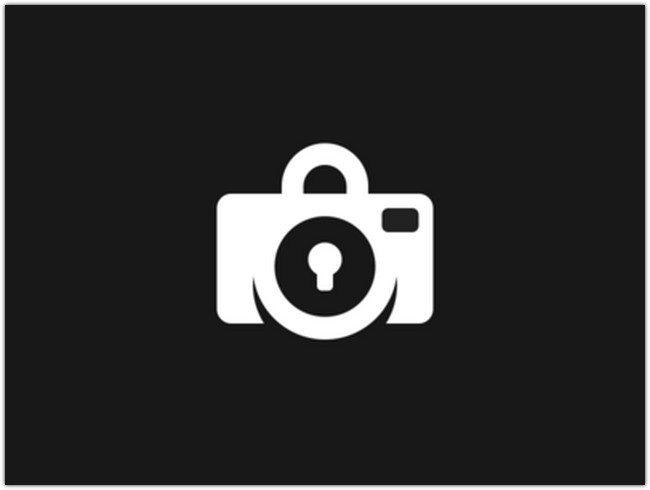 Lock Camera Logo