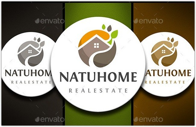 Logo Corporative Colors Mock Up