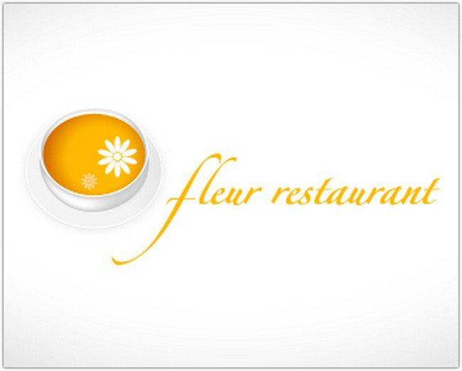 Logo Design - Fleur restaurant
