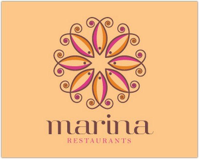Logo Design - MARINA RESTAURANT