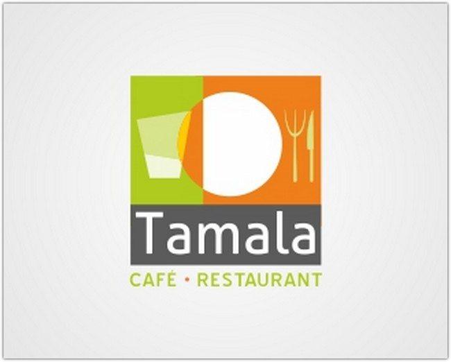 Logo Design - Tamala Cafe Restaurant Logo