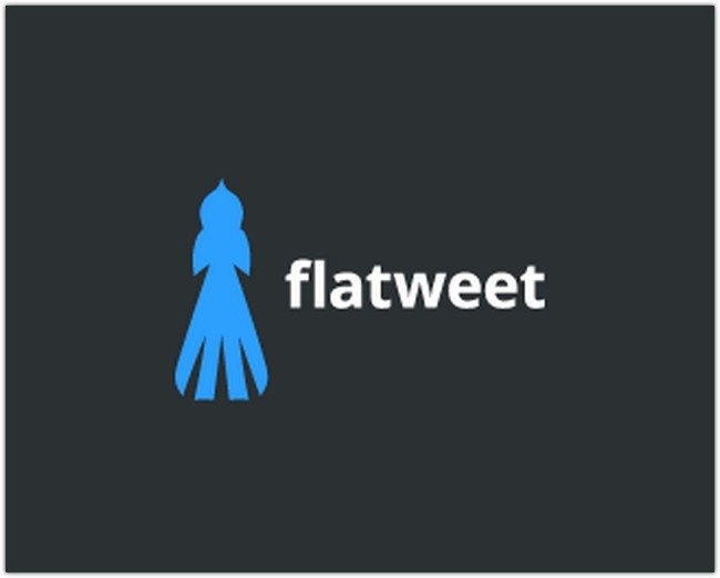 Logo Design - flatweet