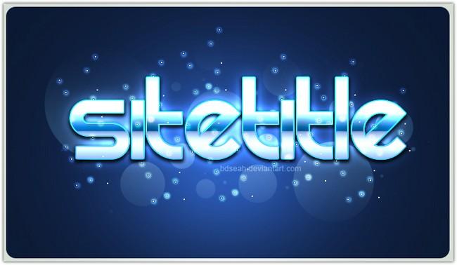 Logo Style PSD