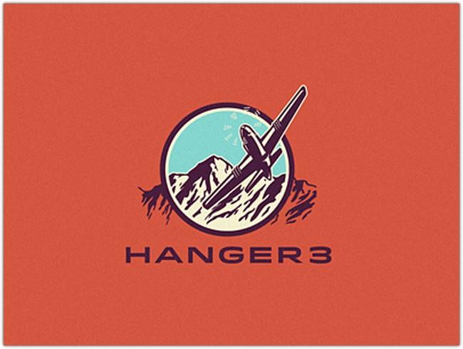 Logo concept for Hanger 3