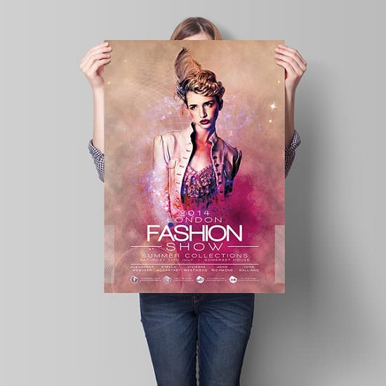 London Fashion Show Flyer Template