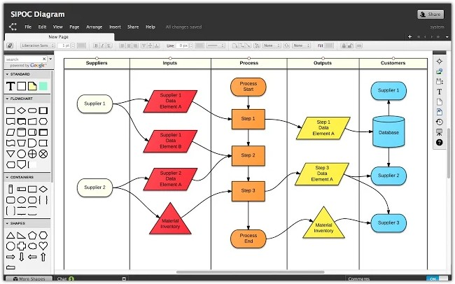 Lucidchart Diagrams - Desktop